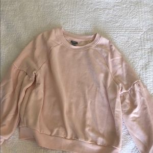 Light pink aerie sweater